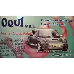 OQUI. Cosmética del automotor.