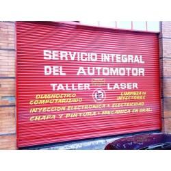 Taller Laser. Servicio del automotor.