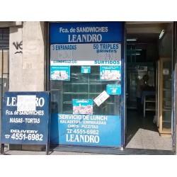 "Fábrica de sandwichs ""Leandro"""